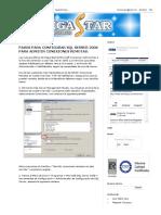 Configurar SQL Server 2008 Para Admitir Conexiones Remotas