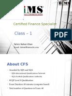 CFS Lecture 01