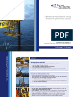 Offshore Dynamic Pile Load Testing