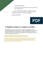 understanding lenses DSLR.docx