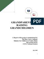 Grandparents Raising Grandchildren Report