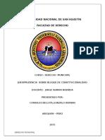 JURISPRUDENCIA SOBRE BLOQUE DE CONSTITUCIONALIDAD.docx