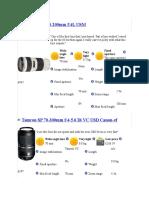 Chosen Lens