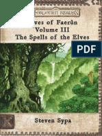 Elves of Faerun Volume III by Lord Karsus