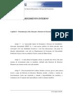 Regimento Interno EJESC Jr.