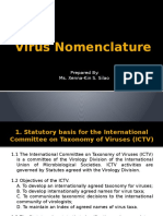 The International Code of Virus Classification and Nomenclature
