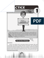 Soal TOEFL Lengkap, Listening, Structure, Reading