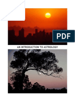 Intro to Astrology 27-03-2012