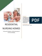 residential nursing home proposal