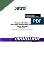 Manual de Usuario Evolution