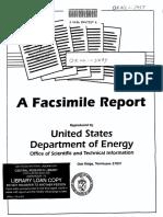 A Facsimile Report