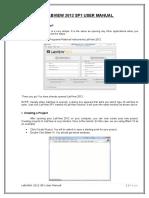 Labview Manual - Basics