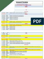 Micro Schedule