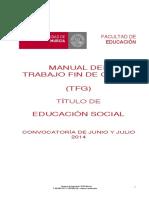Manual de TFG EDUCACIÓN SOCIAL