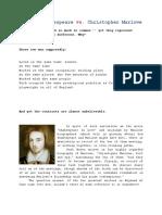 William Shakespeare vs marlowe.docx