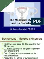 Menstrual Dysfunction