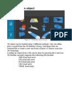3D Builder Manual