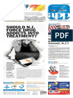 Asbury Park Press front page Sunday, July 17 2016