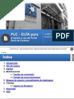 Portal Unico de Contacto -Guia Para El Ingreso y Uso - Para Inversores - Mercado de Valores