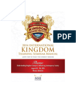 2014 Kingdom Training Seminar Manual