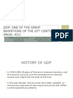 GDP One of the Greatest Inventions in 20th Century-2