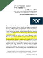 SILVA, Josué Pereira Da. Poder e Dierito Em Foucault - Relendo Vigiar e Punir 40 Anos Depois