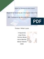 5.Enterprise Resource Planning Resumen