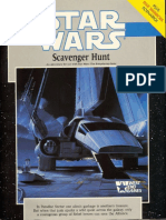 WEG40020 - Star Wars D6 - Scavenger Hunt