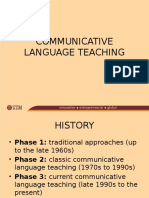 Communicative Language Teaching (2)