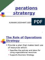 Operatons Strategy
