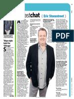"Newsday ""Fast Chat"" - Eric Stonestreet"