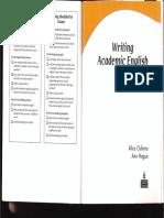 Writing Academic English (Fourth Edition)