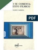 Carmona-Como Se Comenta Un Texto Filmico