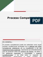 DER.proc.CONSTITUC. Proceso Competencial