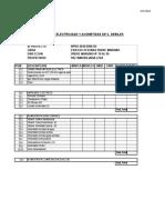 Pauta Presupuestaria Oficinas