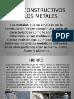 Usos Constructivos de Los Metales
