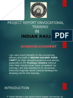 Project reporton vocational rail