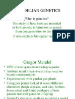 J -Genetics Mendelian