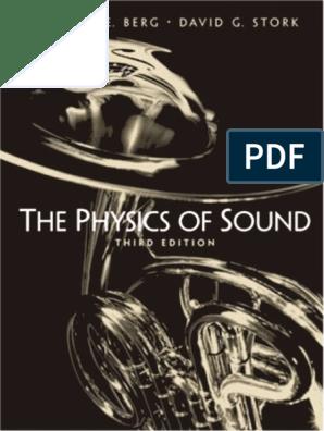 The Physics Of Sound pdf