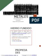 Propiedades Fisicas de Los Materiales y Metales