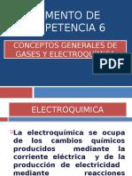 Conceptos Generales de Gases y Electroquimica