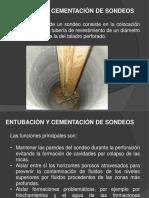 Entubacion Cementacion Sondeos