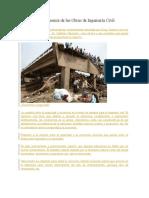 Seguridad y Economía de Las Obras de Ingeniería Civil