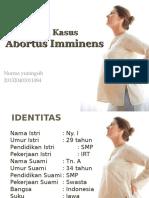 Kasus Abortus Imminens-nurma