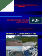CLASE 01 Desarrollo de La Acuicultura en El Peru