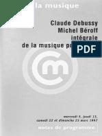 Debussy Prelude Beroff