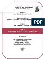 Manual de Practicas de Laboratorio Quimica Analitica 1