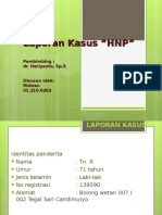 Laporan Kasus HNP Ridwan