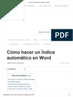 Como hacer un Indice en ...Automático ¡ Efectivo !.pdf