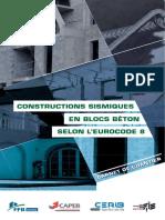 Dp 114 Carnet Chantier Constructions Sismiques Blocs Beton